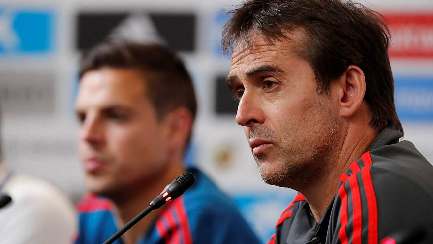 Fernando Hierro sustituye a Lopetegui al frente de la Roja