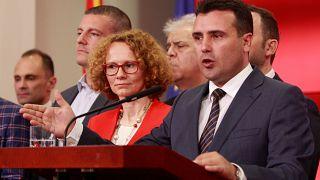 Σκοπιανό: Ο πρόεδρος «έδιωξε» Ζάεφ-Ντιμιτρόφ σε δύο λεπτά
