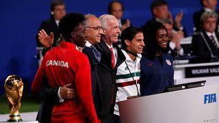 Estados Unidos, México e Canadá vão organizar o Mundial de 2026