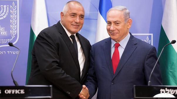 بويكو بوريسوف برفقة نتنياهو في القدس يوم الأربعاء