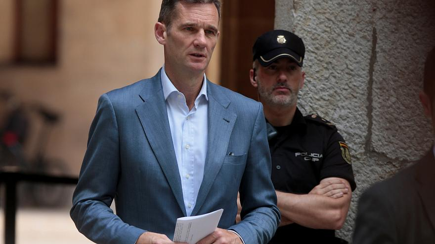 خمسة أيام مهلة لصهر ملك اسبانيا لتسليم نفسه عقب إدانته بتهم الاختلاس والاحتيال الضريبي