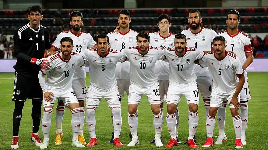 لاعبو المنتخب الإيراني