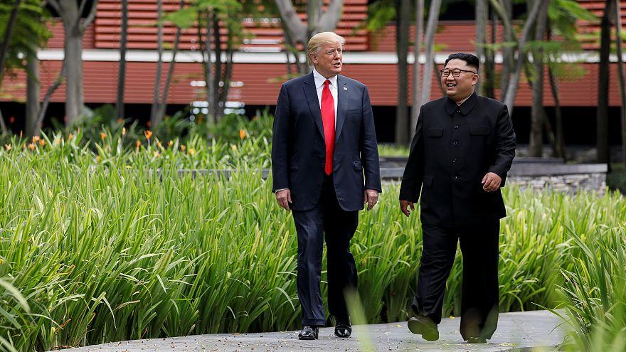 Fröhliche Kids in Nordkorea: Trumps 4 Min. Propaganda-Video für Kim