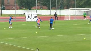 شاهد: استعدادات المنتخب المغربي لمواجهة إيران في مونديال روسيا