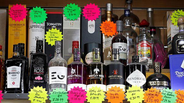 Προσφορές σε κάβα ποτών στη Μεγάλη Βρετανία