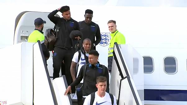 Final teams arrive in Russia ahead of World Cup kickoff