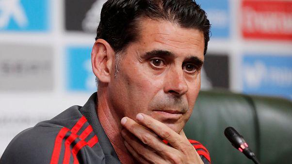 Внеплановая замена в сборной Испании
