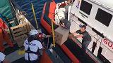Aquarius: Proviant für Spanien-Überfahrt