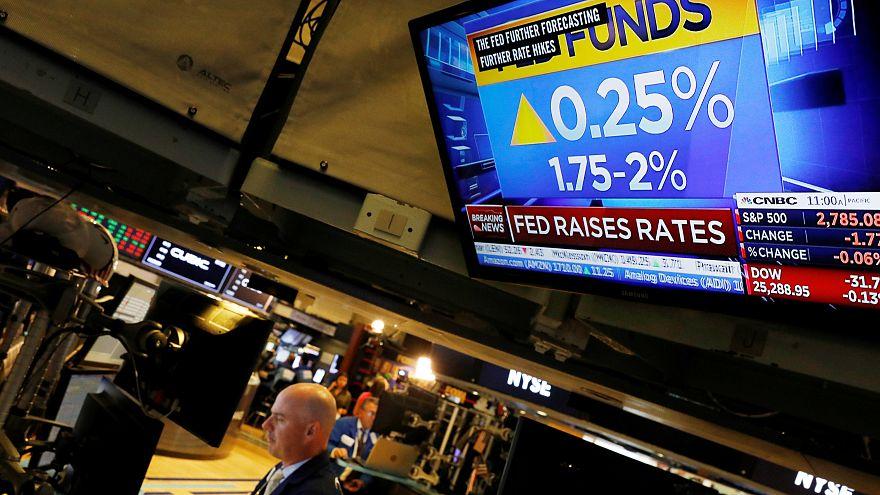 US-Notenbank hebt Leitzins um 0,25 Punkte an