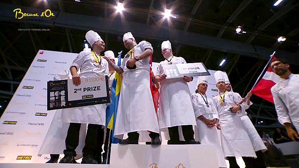 """النرويجي كريستيان بيترسون يفوز في مسابقة """"بوكوز"""" الاوروبية للطبخ"""