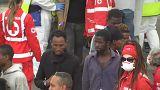 Catania: Ankunft von Flüchtlingen