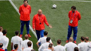World Cup - Russia Training - Luzhniki Stadium, Moscow