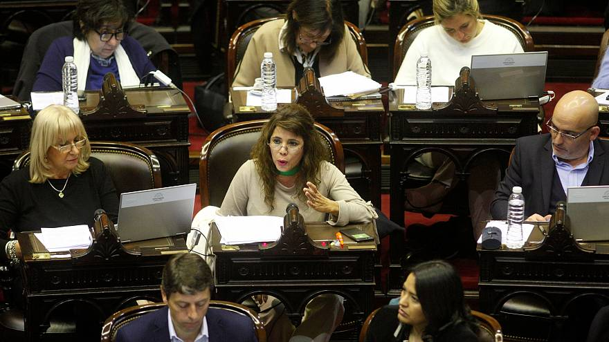 Lawmakers debate abortion in Argentina