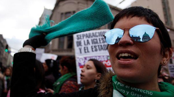 Votación histórica sobre el aborto en Argentina