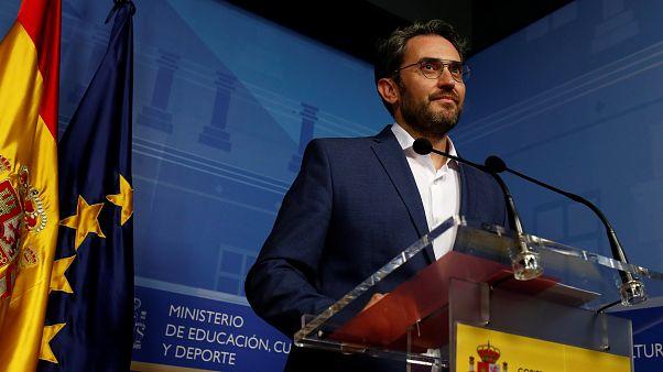 Ισπανία: Παραιτήθηκε ο υπουργός Πολιτισμού έπειτα από δημοσιεύματα περί φοροαποφυγής