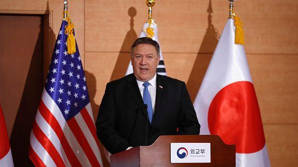 No North Korea sanctions relief until complete denuclearisation, says Pompeo