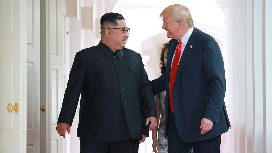 ABD Başkanı Trump: Kuzey Kore tehdit olmaktan çıktı