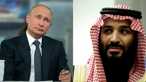 بوتين سيلتقي مع بن سلمان ووزيري الدفاع والطاقة السعوديين