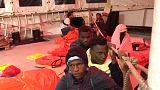 Aquarius, diario di bordo: cambio di rotta a causa del maltempo
