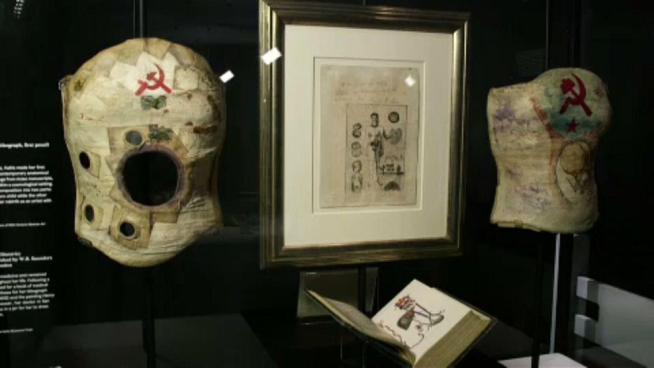 Έκθεση με προσωπικά αντικείμενα της Φρίντα Κάλο στο Λονδίνο