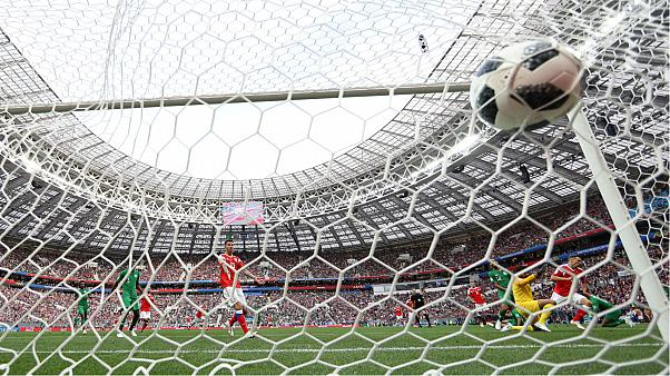 As it happened: Russia crush Saudi Arabia 5-0 in World Cup opener