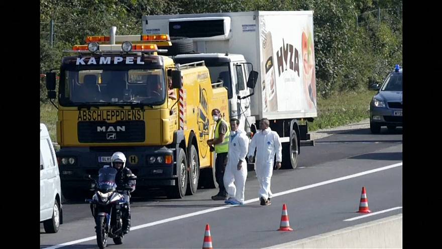 The gang dumped the truck with the bodies in it at the side of a motorway