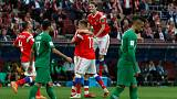 نخستین دیدار جام جهانی ۲۰۱۸؛ روسیه، عربستان را پنجتایی کرد
