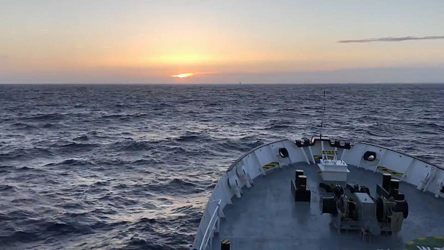Inside the Aquarius as it sets sail for Spain