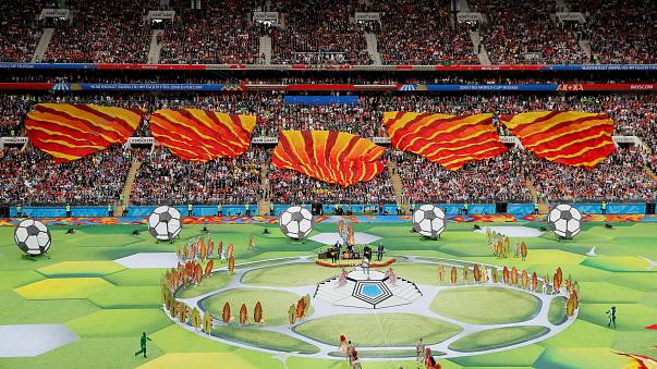 FOTÓK - Az oroszországi focivébé megnyitó ünnepsége