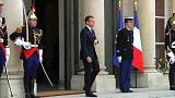 Emmanuel Macron and Italian PM Giuseppe Conte patch up differences