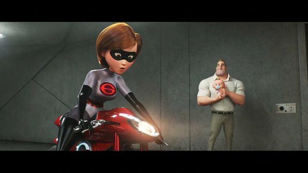 A família de super-heróis está de volta 14 anos depois