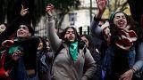 Vote historique sur l'avortement en Argentine