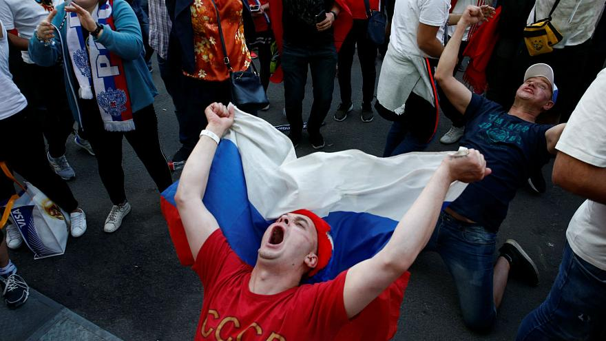 Watch: Fans dance their way into World Cup in Russia