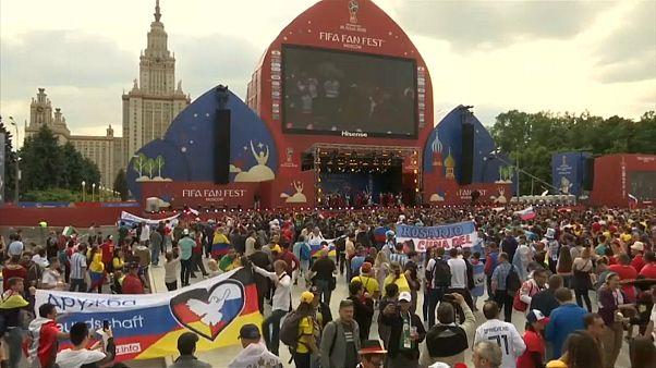Dünya Kupası'ndan renkli taraftar görüntüleri