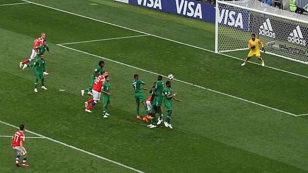 Μουντιάλ 2018: Η Ρωσία διέλυσε με 5-0 τη Σ. Αραβία