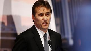 Real Madrid unveil tearful Julen Lopetegui