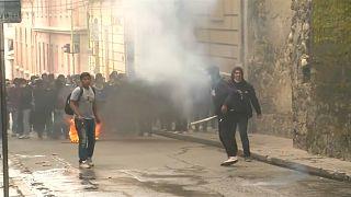 Столкновения в Ла-Пасе