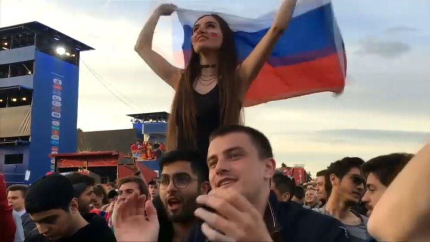 Incredulidad, alegría y orgullo ante el 5-0 de Rusia contra Arabia Saudí