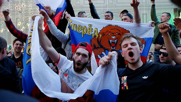 Russia fans in ecstasy after 5-0 Saudi drubbing