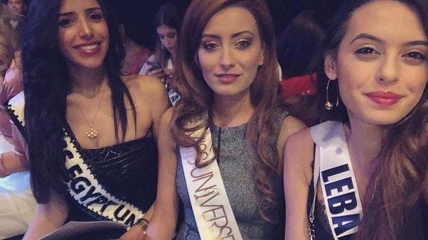 Irak güzellik kraliçesi Sarah Idan'ın İsrail ziyareti tepki çekti