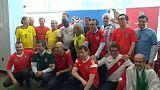 أعضاء مجلس الأمن الدولي يتحولون إلى مشجعي كرة القدم