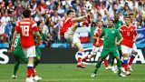 Чем запомнится матч Россия-Саудовская Аравия?