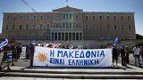 Συλλαλητήριο στο Σύνταγμα: «Kάτω τα χέρια από τη Μακεδονία»
