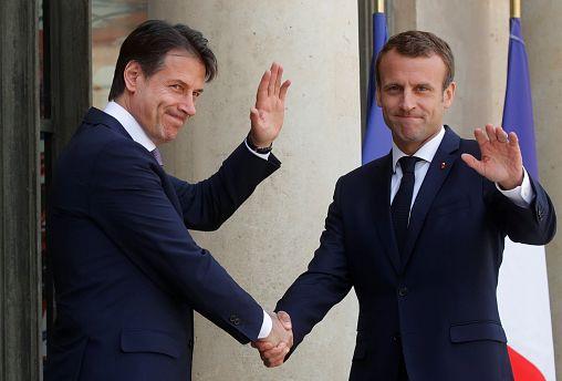 """Conte: """"Con Macron tutto chiarito, ora voltiamo pagina sui migranti"""""""