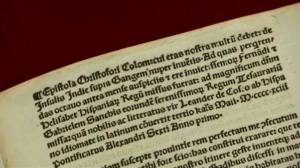 Il ritorno di Colombo dall'America... in Vaticano