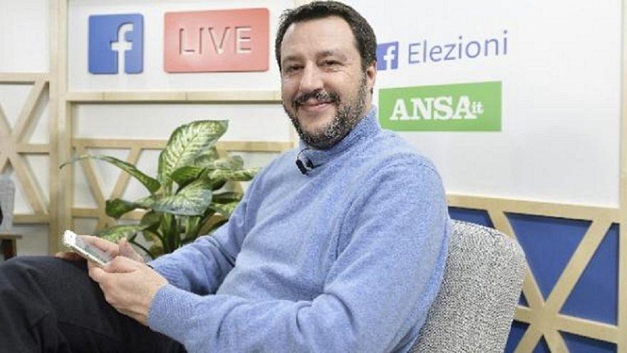 Matteo Salvini re dei social