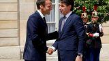 Trotz Verstimmungen: Italiens Regierungschef Conte zu Besuch im Élysée-Palast