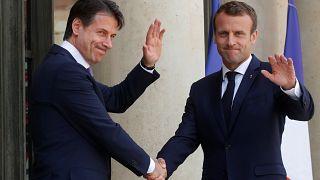 Conte y Macron piden la reforma del sistema de Dublín