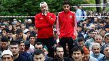 نماز عید فطر در روسیه با چاشنی جام جهانی