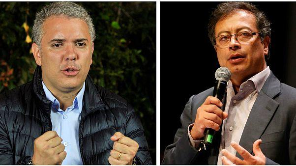 Dos candidatos en las antípodas para la presidencia de Colombia